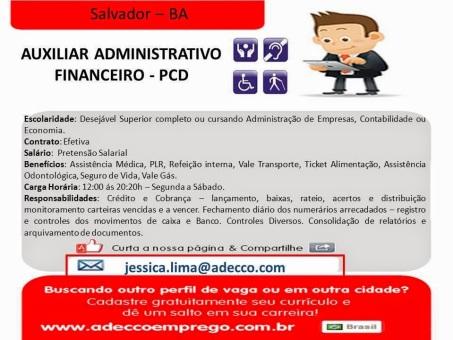 Oportunidade para PCD - Salvador 1