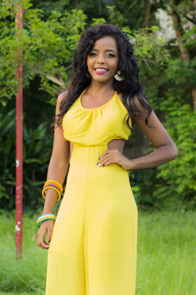 Moradora de Camaçari irá disputa o Miss Salvador Internacional 2015 1